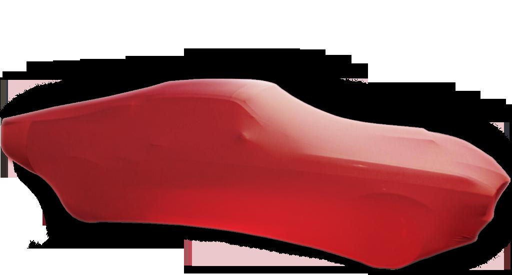 Auto-Schutzdecke Rot / Car Cover Red